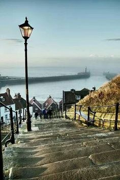 Whitby harbour, North Yorkshire, England I've seen this many times! Miss England :( North Yorkshire, Yorkshire England, Whitby England, Oxford England, Cornwall England, Yorkshire Dales, England Uk, London England, The Places Youll Go