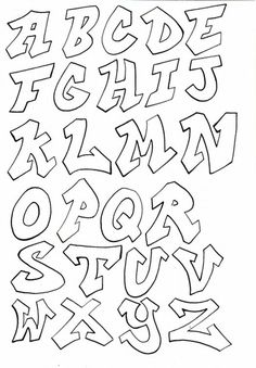 Image result for how to draw graffiti letters step by step for beginners