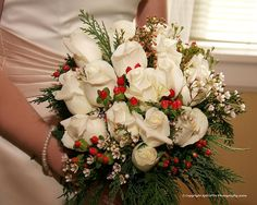 One of the most beautiful Christmas Bouquets