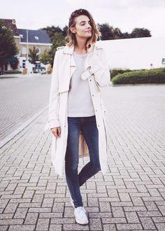 Poliene Duster Coat via @WhoWhatWear