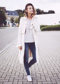 Poliene Duster Coat via @WhoWhatWear
