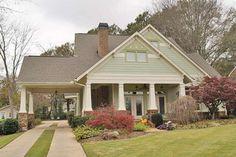 Craftsman Style House Plan - 3 Beds 2 Baths 1657 Sq/Ft Plan #120-160 Front Elevation - Houseplans.com