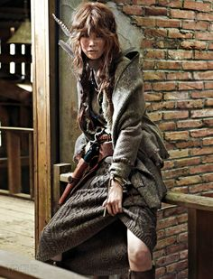 Song Kyung-ah // Vogue Korea