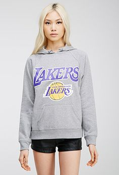 LA Lakers Logo Hoodie | FOREVER21 | #thelatest