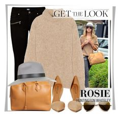 """""""Rosie"""" by stylemeup007 ❤ liked on Polyvore featuring Paige Denim, Whiteley, TIBI, Hermès, Shoe Cult and Topshop"""