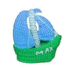 Little Ship Crochet Pattern pattern on Craftsy.com