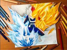Speed Drawing - Midoriya Izuku (Boku no Hero Academy) - YouTube