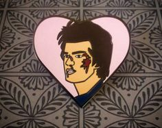 Steve Harrington Stranger Things Enamel Pin