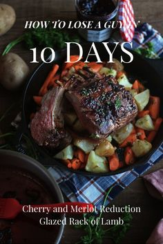 how to lose a guy in 10 days cherry and merlot glazed rack of lamb - Ina Garten Lamb Recipes