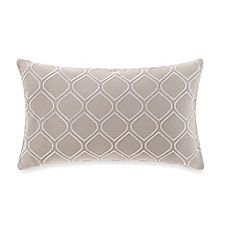 image of Real Simple® Boden Embroidered Oblong Throw Pillow