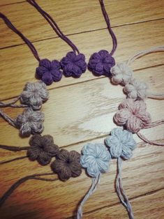 ぷっくりお花☆編み方 | 笑顔の源