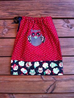Custom boutique children's clothing Girls red by EverythingSorella, $38.50
