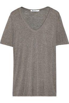 T by Alexander Wang Classic jersey T-Shirt | NET-A-PORTER