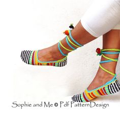 Zapatilla básica adulto feliz chatarra-calzado - alpargatas - Crochet patrones - descargar momentos