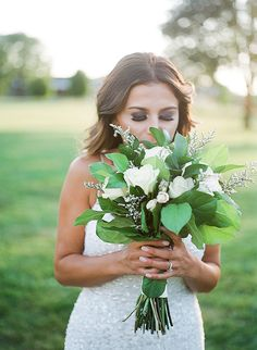 White Garden Wedding // Glamour & Grace