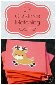 A simple match game that's hours of fun for preschoolers!