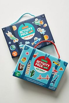 Slide View: Mudpuppy To-Go Activity Pack Restaurant Kit, Kids Packaging, Board Game Design, Kits For Kids, Craft Box, Packaging Design Inspiration, Box Design, Diy Kits, Creations
