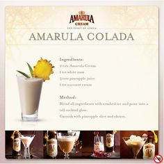 Amarula cocktail