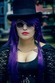 Retrato Violet  Modelo Wich