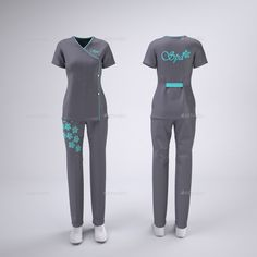 Buy Spa, Hair and Beauty Salon Staff, Massage Therapy Uniforms Mock-Up by on GraphicRiver. Well thought out, planned and executed salon staff uniforms can play an important role in the success and branding of. Salon Uniform, Spa Uniform, Scrubs Uniform, Beauty Therapist Uniform, Stylish Scrubs, Beauty Uniforms, Scrubs Outfit, Staff Uniforms, Hair And Beauty Salon