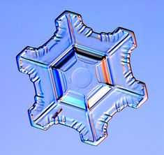 snowflakes are an amazing example of God's creativity in science.