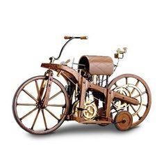 1885+Motorcycle | Display models > motorbike > Daimler wood motorcycle 1885
