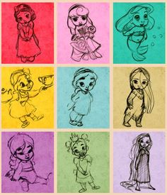 Baby Princesses  #Disney i love these pictures of them