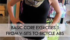 Basic Core Exercises 1: From V-Sits to Bicycle Abs