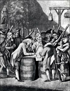 #Townshend #Act. Taxes on glass, paint, oil, lead, paper, and tea were applied with the design of raising £40,000 a year for the administration of the colonies. The result was the resurrection of colonial hostilities created by the Stamp Act.