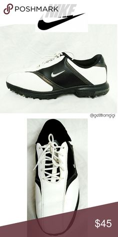 NIKE Heritage Golf Shoes Size 9.5. In almost new condition with minimal wear. Worn a few times. Nike Shoes Athletic Shoes