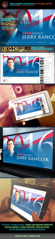 Political YouTube Video Thumbnail Screenshot Template PSD. Download here: https://graphicriver.net/item/political-youtube-video-thumbnail-screenshot-template/17168411?ref=ksioks