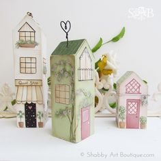 Shabby-Art-Boutique-DIY-Village-Shops-part-2.jpg (600×600)