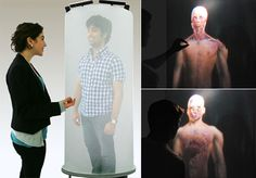 The TelePod: A Kinect-Based, 360-Degree Life-Sized Teleconferencing System. Click through for video.