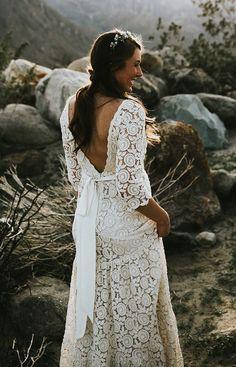bohemian dress -etsy