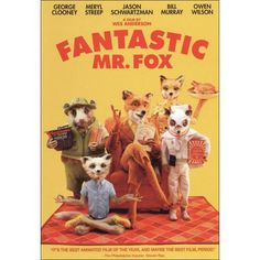 Fantastic Mr. Fox DVD $4 at Best Buy