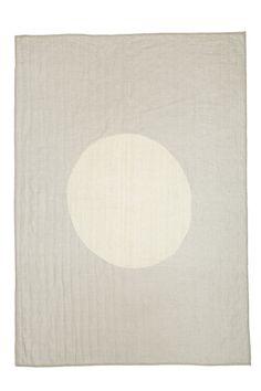 full moon quilt natural – Caroline Z Hurley