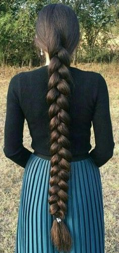Plaits Hairstyles, Braided Hairstyles Tutorials, Beautiful Braids, Beautiful Long Hair, Medium Hair Styles, Natural Hair Styles, Long Hair Styles, Long Hair Trim, Black Hair Aesthetic