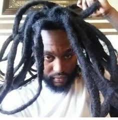 Natty dreads congo bongo melanin Brotha with long thick antennas ready to suck up the sun and energy coming to him from the cosmos. Dreadlocks Men, Dreadlock Rasta, Locs, African Natural Hairstyles, Natural Hair Styles, Black Hairstyles, Wedding Hairstyles, Texturizer On Natural Hair, Dreads Styles