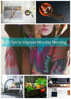 Check out my list of 10 tips to improve Monday morning. Following these tips on Sunday night will make your entire week brighter!  - JessExplainsItAll.com