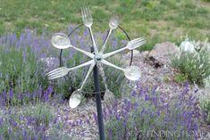 vintage silverware whirligig  http://findinghomeonline.com/outdoor-vintage-silverware-whirligig/#