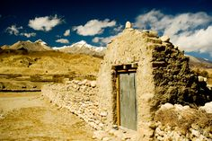 """Lo Manthang - Mustang, Nepal   """"Door to Somewhere"""" by Stephen Ironside, via 500px."""