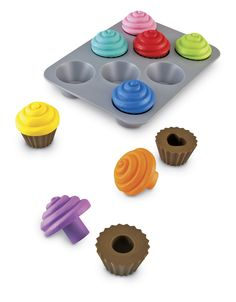 Baby Gift - Amazon.com: Learning Resources Smart Snacks Shape Sorting Cupcakes: Toys & Games