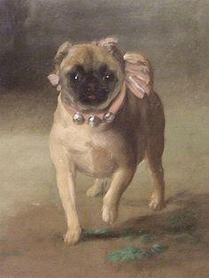 Francisco Goya, Goya Paintings, Animal Paintings, Zoo 2, Fu Dog, Pug Art, Pet Dogs, Pets, Spanish Art