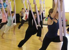 AntiGravity Yoga is a hot new fitness trend making its way across Canada. Find out what it is and whether it's right for you