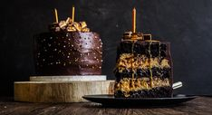 The Incredible Snickers Galaxy Layer Cake {That Also Happens To Be Vegan!}