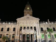 City Hall in iKapa, Western Cape Business Travel, Cape Town, Big Ben, Notre Dame, South Africa, Travel Destinations, Tourism, City, Building