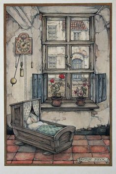 Birth Announcement , ANTON PIECK