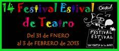 14 Festival Estival de Teatro ~ SMAndesPatagonia - Zona de Cultura
