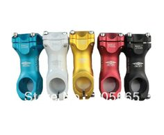 TRUVATIV HUSSEFELT Aluminum Alloy MTB Road bike bicycle Stem (Blue/White/Gold/Red/Black) 7 degrees $16.99