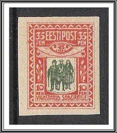 Estonia #B1 Semi-Postal MLH - bidStart (item 37346059 in Stamps, Europe... Estonia)